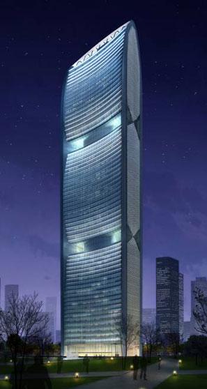 """成为广州西塔和中信大厦之后的""""广州        """"."""